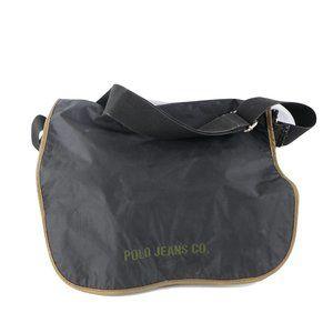 Vintage 90s Ralph Lauren Spell Out Messenger Bag